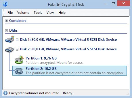 Exlade Cryptic Disk