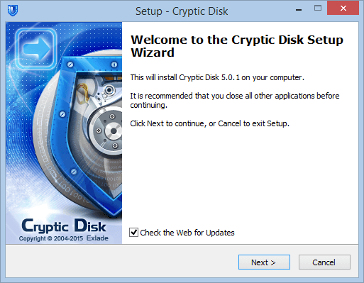 How to Install Cryptic Disk