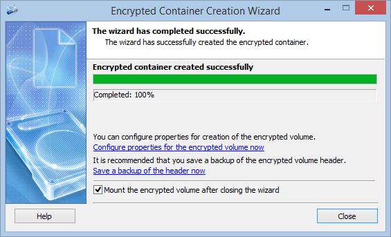Exlade Cryptic Disk Wizard